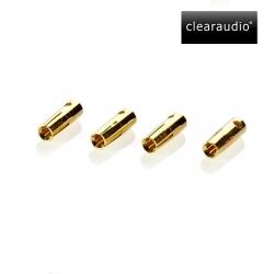Wtyki kabelków ramienia, CLEARAUDIO MPC GOLD Pins
