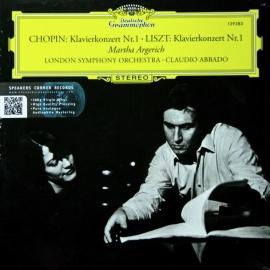 Chopin | Liszt: Klavierkonzert Nr. 1 - Martha Argerich, London Symphony Orchestra, HQ 180g SPEAKERS CORNER, 2009