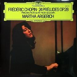 Chopin: 24 Préludes Op.28 Martha Argerich, HQ 180G CLEARAUDIO 2009