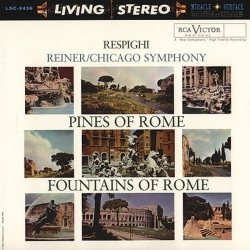 Respighi: Pines Of Rome / Fountains Of Rome, HQ 200G LIVING STEREO 2013