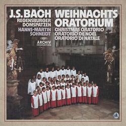 J.S. Bach: Weihnachts-oratorium, Regensburger Domspatzen, Hanns-Martin Schneidt, 3LP HQ180G, BOX, CLEARAUDIO