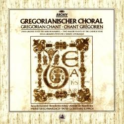 Gregorianischer Choral - Zwei Grosse Feste Des Kirchenjahres, HQ180G, CLEARAUDIO 1982