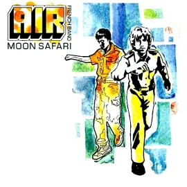 AIR - Moon Safari, LP HQ180G + MP3, 2015