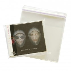 Okładka foliowa na 2 CD - zaklejana JAPAN KATTA - 10 szt.