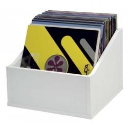 Półka na płyty LP (110 płyt) - biała  ADVANCED