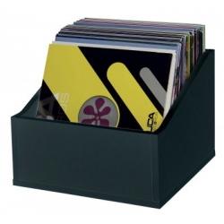 Półka na płyty LP (110 płyt) - czarna  ADVANCED