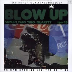 Isao Suzuki Quartet - The Blow Up, 2LP HQ180G 45RPM TBM/IMPEX U.S.A.