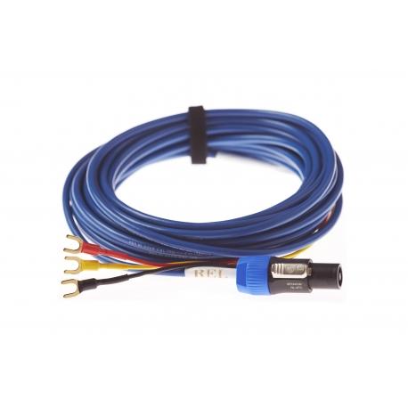 Kabel do subwoofera Rel Bassline Blue - 10 m