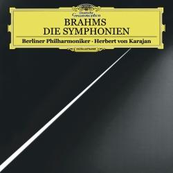 BRAHMS: Die Symphonien 1-4, Herbert von Karajan, Berliner Philharmoniker,BOX 4LP HQ180G, Analogphonic 2017
