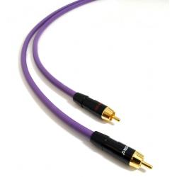 Interkonekt Melodika Purple Rain MD2R 2xRCA-2xRCA | 1m