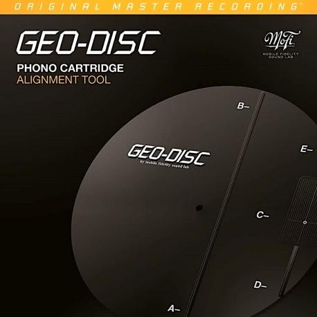 Szablon do kalibracji wkładki, Mobile Fidelity GEO-DISC