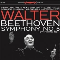 Beethoven: Symphony No. 5, Symphony No. 4, Columbia Symphony Orchestra, Bruno Walter, HQ180G Speakers Corner 2018