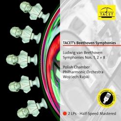 Beethoven: Symphonies Nos. 1, 2 + 8, Polish Chamber Philharmonic Orchestra, W.Rajski, 2LP HQ 180g, TACET 2017