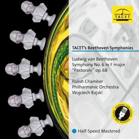 """Beethoven: Symphony No. 6 in F major """"Pastorale"""" op. 68, Polish Chamber Philharmonic Orchestra, W.Rajski, HQ 180g, TACET 2017"""
