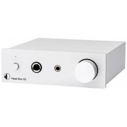 Wzmacniacz słuchawkowy Pro-Ject Head BOX S2 silver