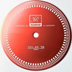 Mata stroboskopowa JR Audio - standart, czerwona