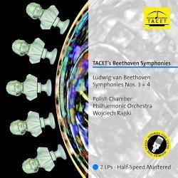 Beethoven: Symphonies Nos. 3+4, Polish Chamber Philharmonic Orchestra, W.Rajski, 2LP HQ 180g, TACET 2017