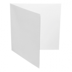 """Koperta kartonowa 12"""" rozkładana - GATEFOLD - biała"""