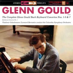 Bach, Beethoven: The Complete Glenn Gould Bach Keyboard Concertos/ Beethoven Concerto No. 1, BOX 3LP HQ180G SPEAKERS CORNER 2013