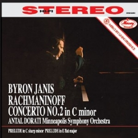 Rachmaninoff: Piano Concerto No. 2 - Byron Janis, HQ 180g Speakers Corner