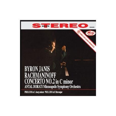 Rachmaninov: Piano Concerto No. 2 - Byron Janis, HQ 180g Speakers Corner