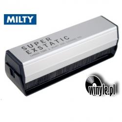 Szczoteczka welurowa Audiofilska SUPER EXSTATIC MILTY
