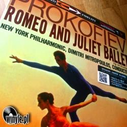 PROKOFIEV - Romeo and Juliet,  New York Philharmonic Orchestra Dimitri Mitropoulos , HQ 180g Speakers Corner 2014