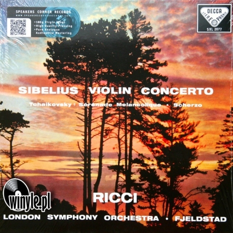 Sibelius: Concerto for Violin and Orchestra / Tchaikovsky: Sérénade mélancolique, HQ 180g Speakers Corner 1999