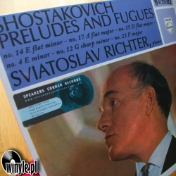 Shostakovich: Preludes And Fugues - Sviatoslav Richter, HQ 180g Speakers Corner 2011