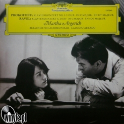 Prokofieff / Ravel: Martha Argerich, HQ 180g CLEARAUDIO 2012