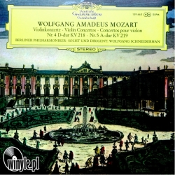Mozart: Violin Concertos No. 4&5 Wolfgang Schneiderhan, HQ 180g CLEARAUDIO