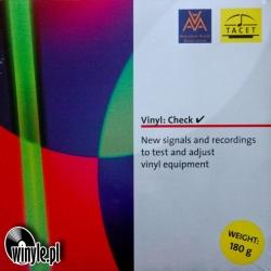 Płyta testowa TACET Vinyl: Check HQ 180G