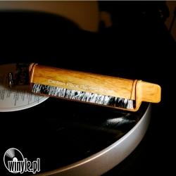 Szczoteczka antystatyczna węglowa | imitacja drewna