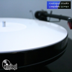 Mata PLEXI White Analogue Studio | wgłębienie na label