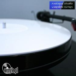 Mata PLEXI White Analogue Studio   wgłębienie na label