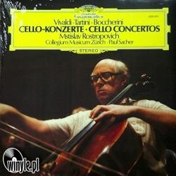 Vivaldi, Tartini, Boccherini - Mstislav Rostropovich, Collegium Musicum Zürich/Paul Sacher Cello Concertos, CLEARAUDIO