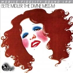 Bette Midler - The Divine Miss M, Mobile Fidelity Silver Lab LP HQ140G U.S.A. 2011