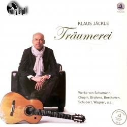 Klaus Jäckle - Träumerei, SCHUBERT, PAGANINI, BRAHMS, CHOPIN, BEETHOVEN... HQ180G, CLEARAUDIO 2012
