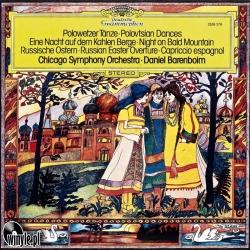 Polowetzer Tänze/Eine Nacht Auf Dem Kahlen Berge - Daniel Barenboim Chicago Symphony Orchestra, HQ180G CLEARAUDIO