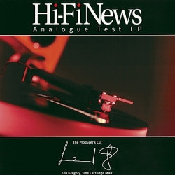 Płyta testowa Hi-Fi News Analogue Test LP