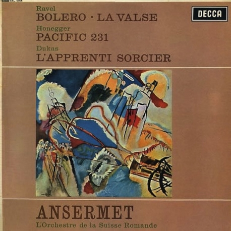 Ravel: Bolero / Honegger: Pacific 231 / Dukas:  The Sorcerer's Apprentice, HQ 180g SPEAKERS CORNER 1993