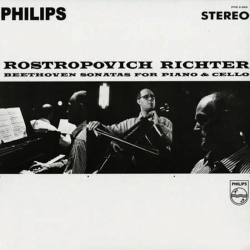 Beethoven Sonatas For Piano and Cello, Rostropovich, Richter, 2LP HQ18G SPEAKERS CORNER, Reedycja 2011