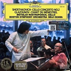 Shostakovich: Cello Concerto No.2, Glazounov: Chant du Ménestrel, Rostropovich, Ozawa, HQ 180g SPEAKERS CORNER 2015