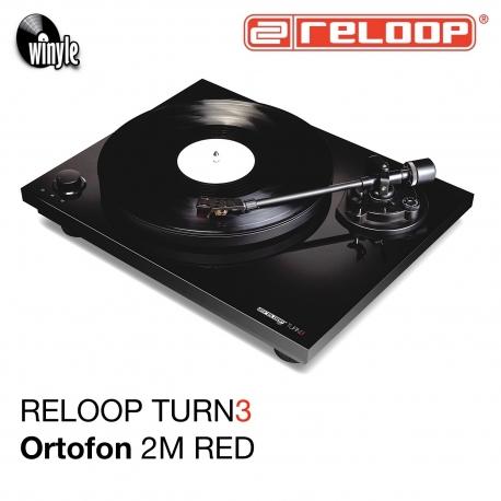 Gramofon RELOOP HiFi TURN3 | Ortofon 2M RED
