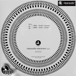 Płyta testowa CLEARAUDIO Stroboscopic Speed Test Record
