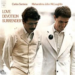 Santana & Mahavishnu John McLaughlin Love Devotion Surrender, Speakers Corner HQ180G 2015