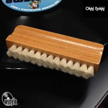 Szczotka do myjki Okki Nokki | naturalne włosie | WOOD
