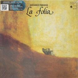 Gregorio Paniagua - La Folia De La Spagna, HQ180G SPEAKERS CORNER 2007