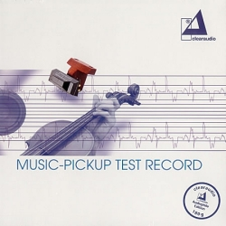 Płyta testowa CLEARAUDIO Music-Pickup Test Record